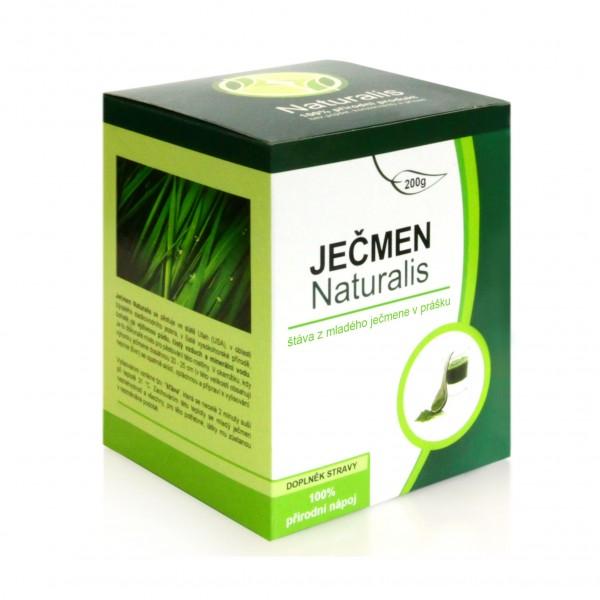 Ječmen Naturalis - 200g - Vitamíny - Minerály - Enzymy - Aminokyseliny
