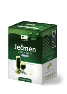 ječmen green ways, mladý ječmen, ječmen gw