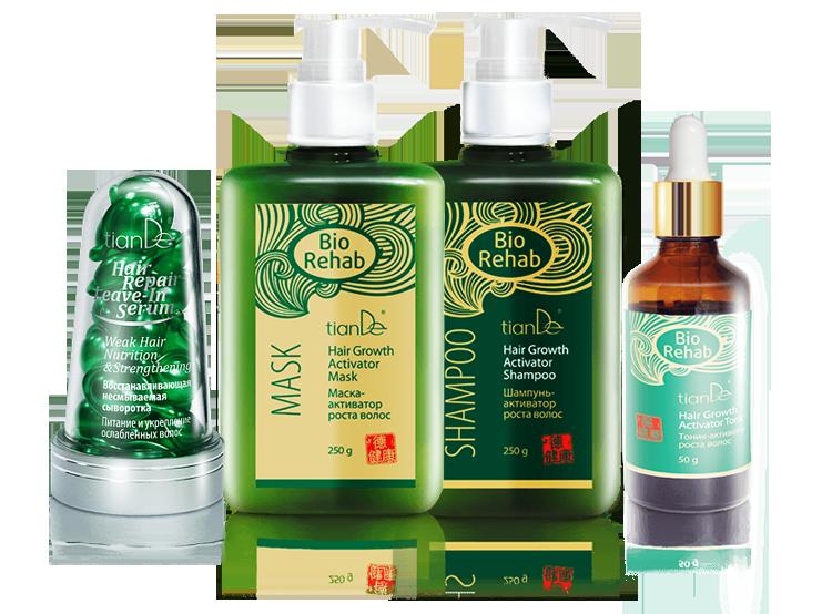 Aktivátor růstu vlasů BIO REHAB - 4 produkty