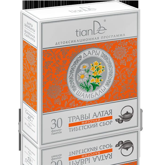 Bylinný čaj Tibetský sběr - Silná imunita a tonus