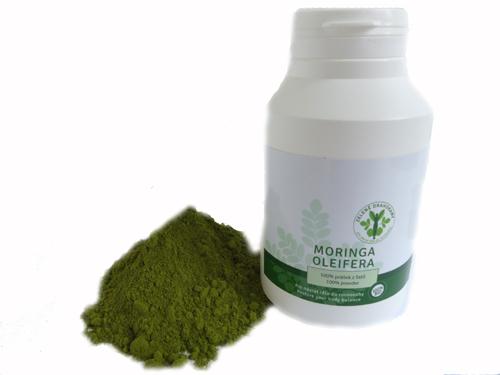 100 % Moringa prášek 200 g - zelený diamant
