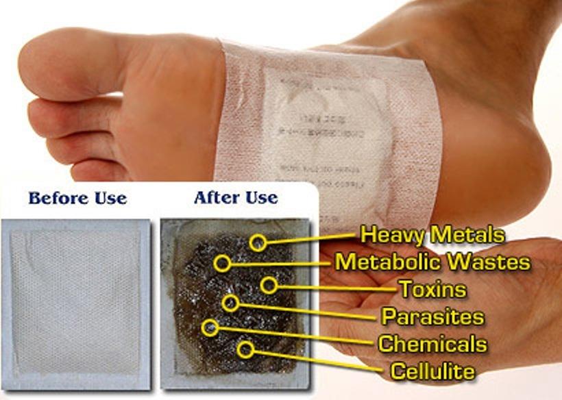 Výsledek obrázku pro detoxikační náplasti